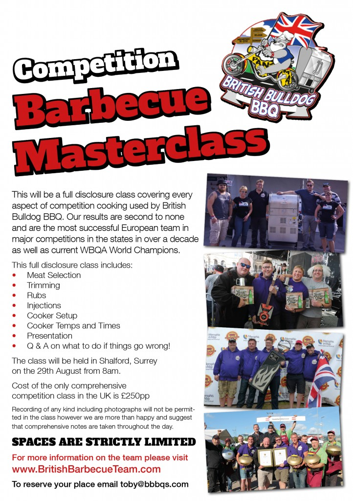 Competition BBQ Masterclass